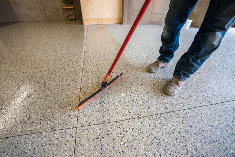 Clear Floor Coating
