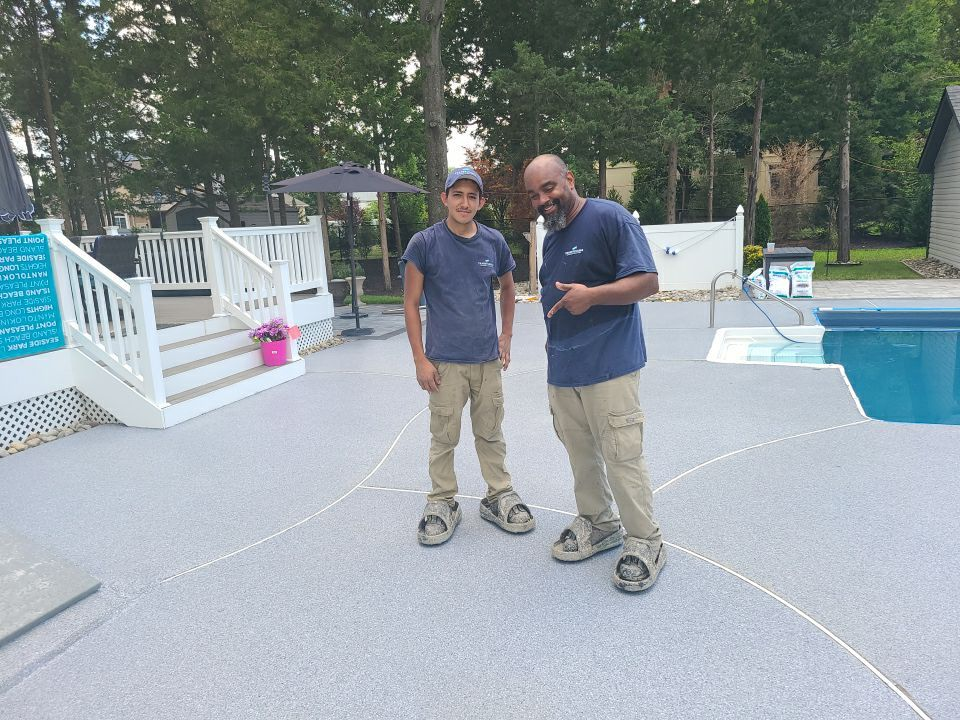 pool deck coating professionals