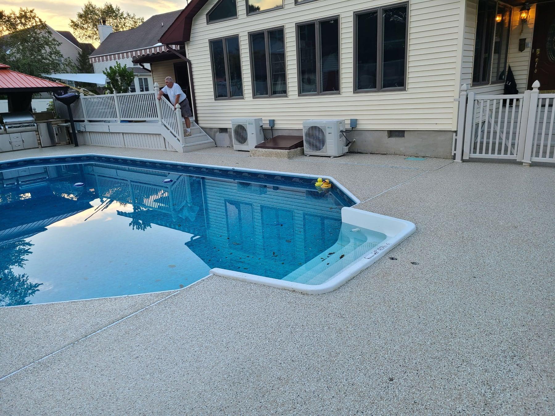 pool floor nj