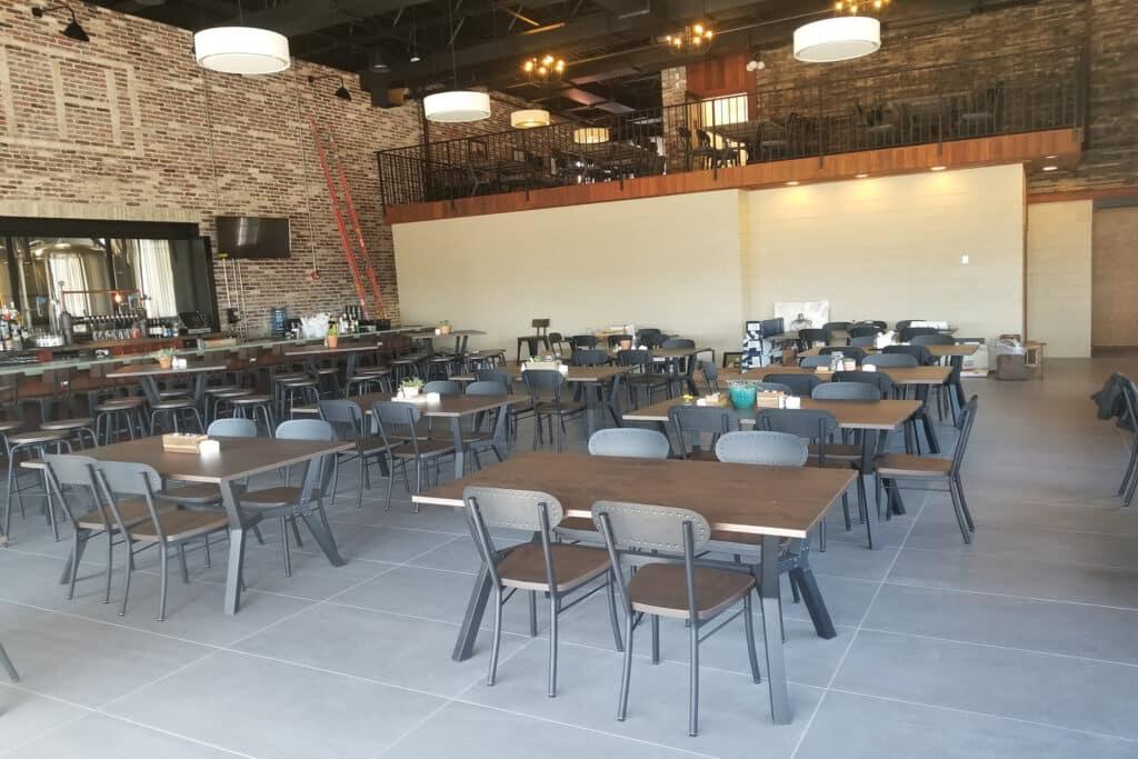 Restaurant floor coatings