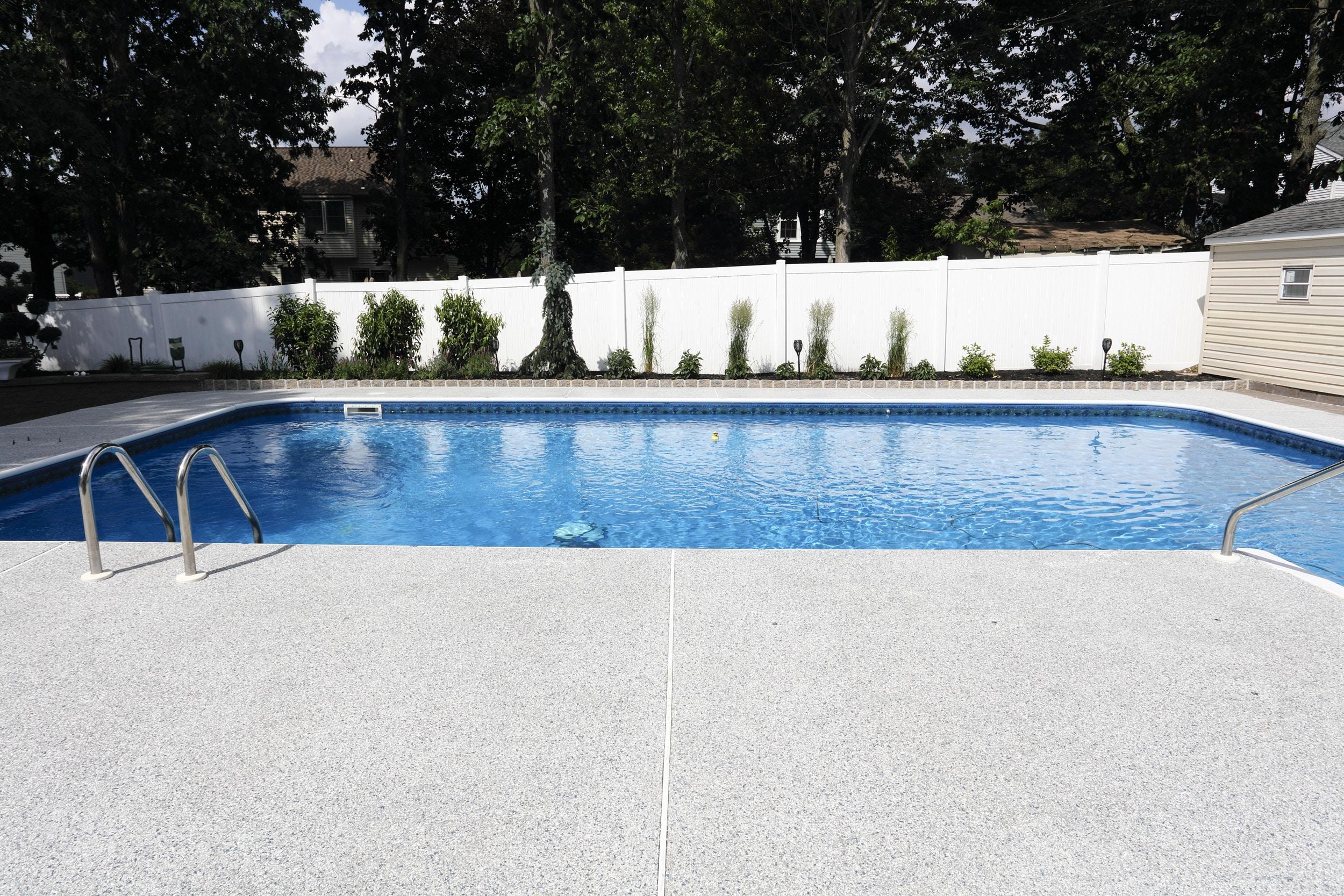 Pool concrete coatings nj
