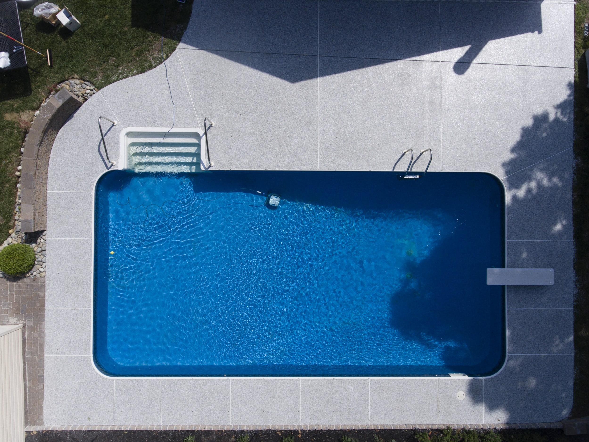 pool deck floor